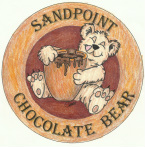 Sandpoint Chocolate Bear